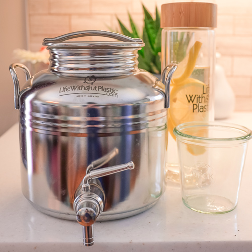 Replacing Your Polycarbonate 5 Gal, Glass Water Jug With Spout