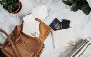 LWP reusable bags: Small and Medium Flip Bags